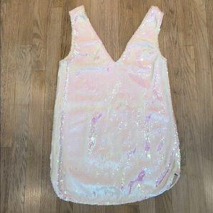 Free People Opal Sequin Shift Dress
